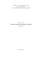 prikaz prve stranice dokumenta Linearni problem najmanjih kvadrata
