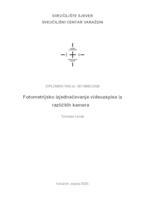 prikaz prve stranice dokumenta Fotometrijsko izjednačavanje videozapisa iz različitih kamera