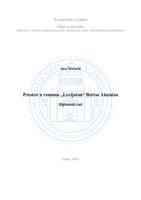 """prikaz prve stranice dokumenta Prostor u romanu """"Levijatan"""" Borisa Akunina"""