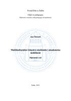 prikaz prve stranice dokumenta Multikulturalno iskustvo studenata i akademska mobilnost
