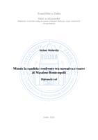 prikaz prve stranice dokumenta Minnie la candida: confronto tra narrativa e teatro di Massimo Bontempelli