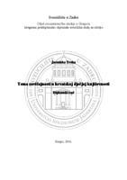 prikaz prve stranice dokumenta Tema zavičajnosti u hrvatskoj dječjoj književnosti