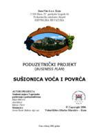 prikaz prve stranice dokumenta SUŠIONICA VOĆA I POVRĆA